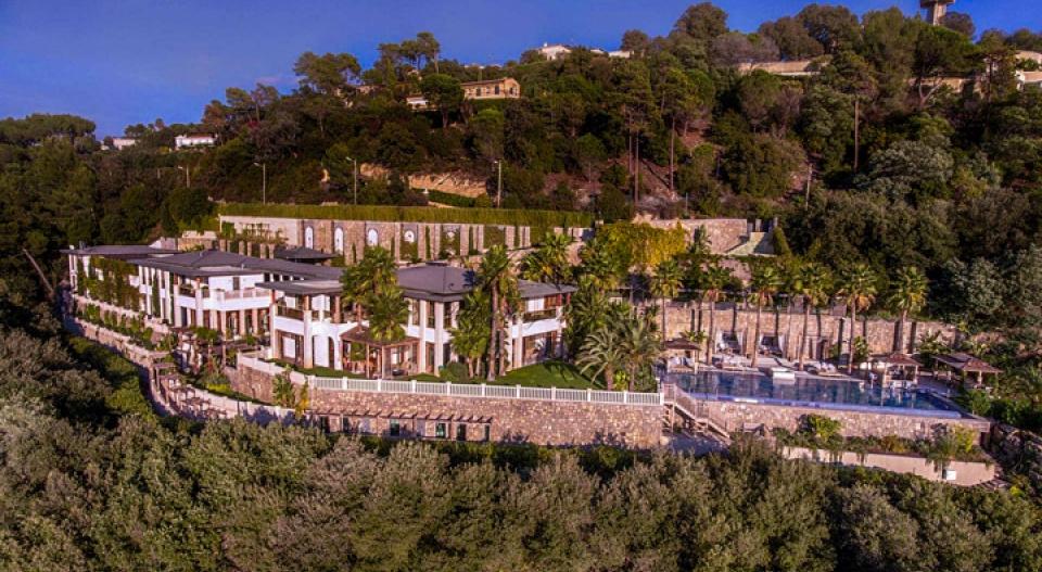 """ویلا """"آلنگ آلنگ""""، گران ترین خانه در اروپا"""